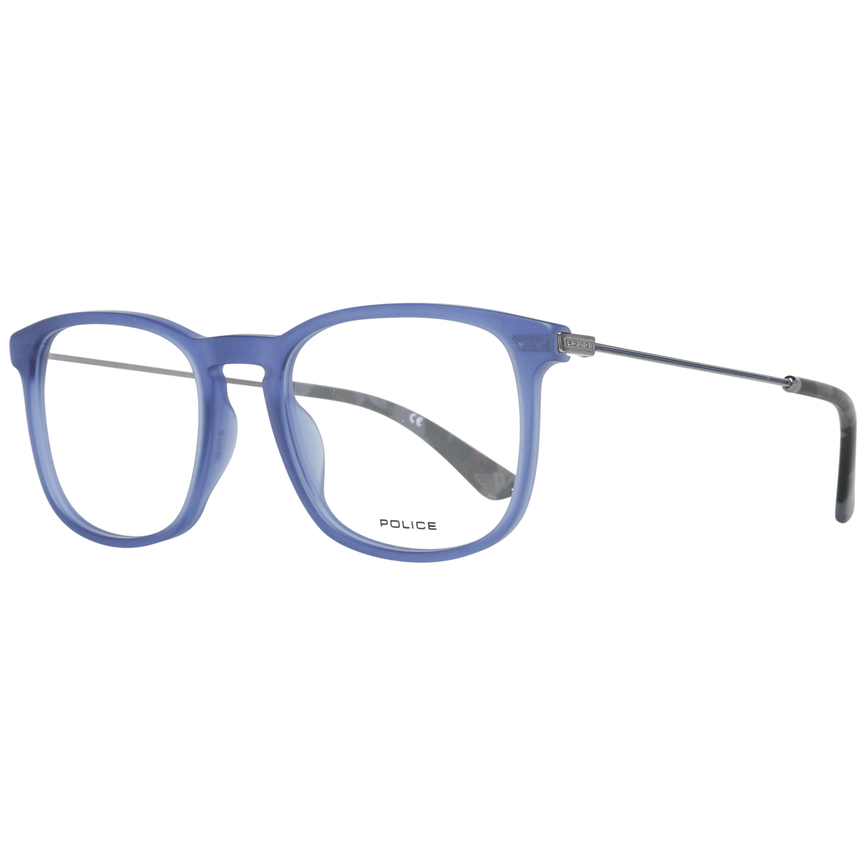 Police Men's Optical Frames Eyewear Blue VPL562N51955M