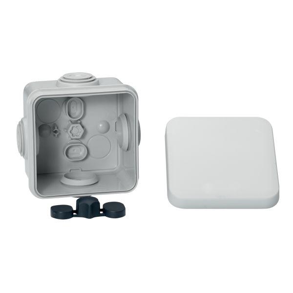Schneider Electric IMT05072 Koblingsboks hvit, klicklock 65 x 65 x 45 mm