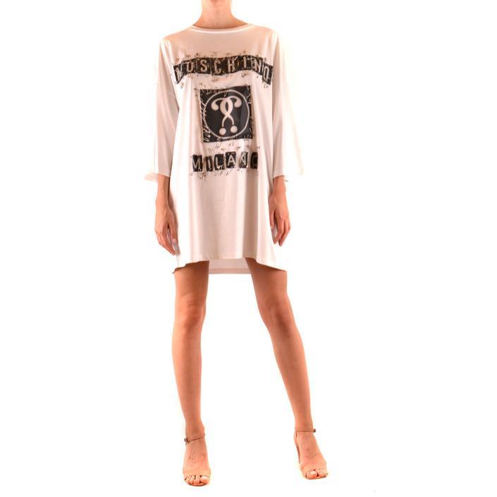 Moschino Women's Dress White 168250 - white S