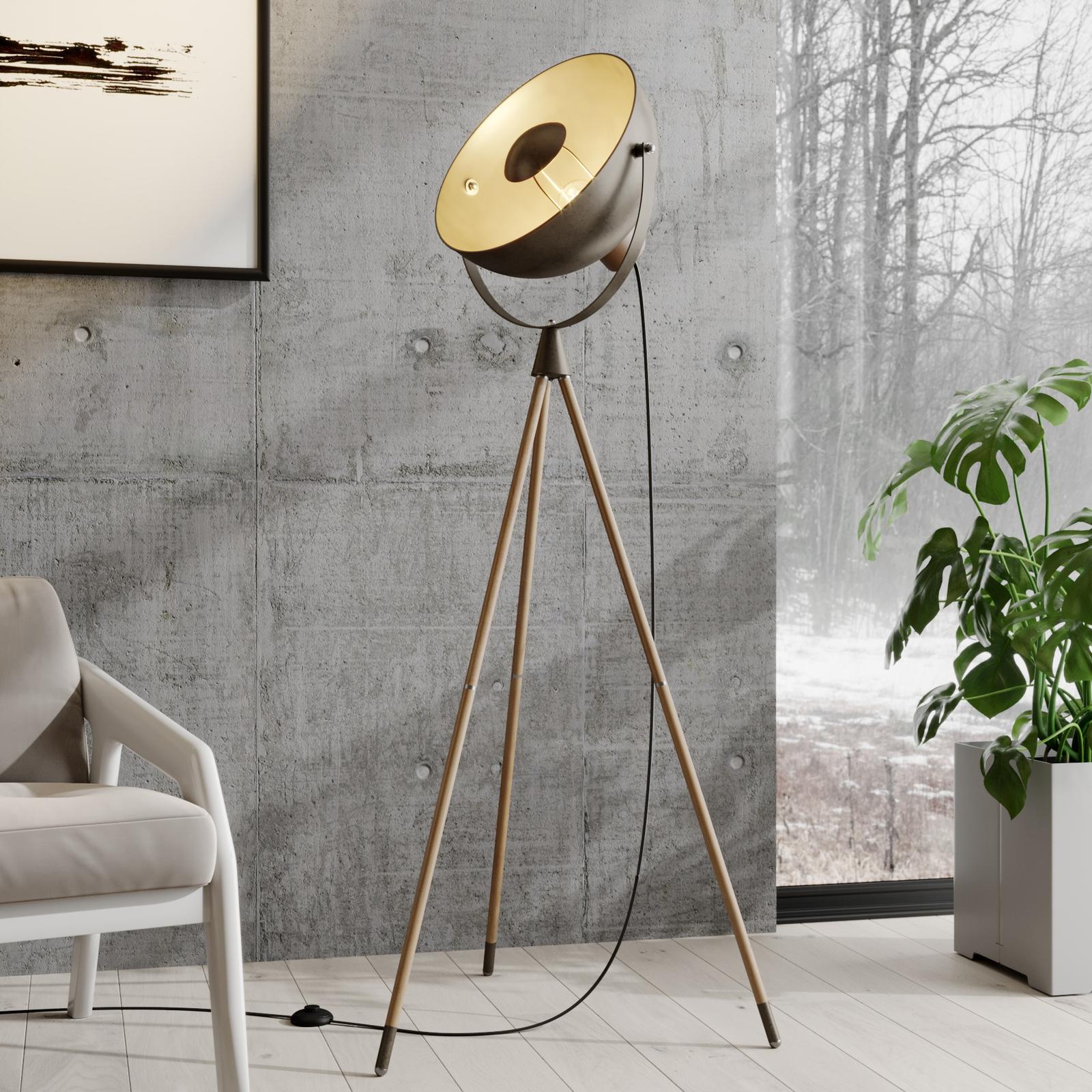 Lindby Scharlie -lattiavalo metallivarjostimella