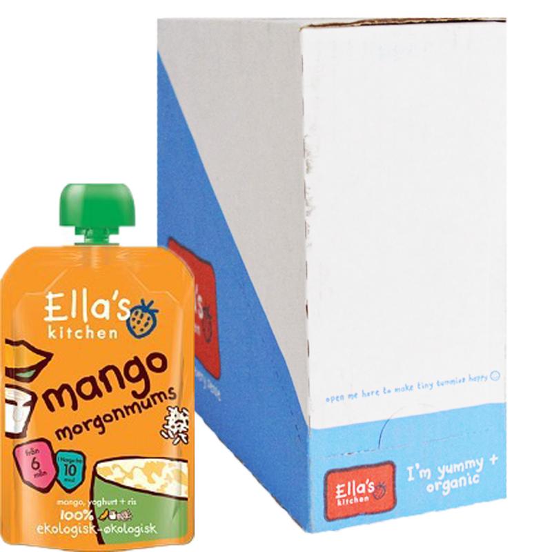 Hel Låda Barnmat Smoothie Mango 6 x 100g - 67% rabatt