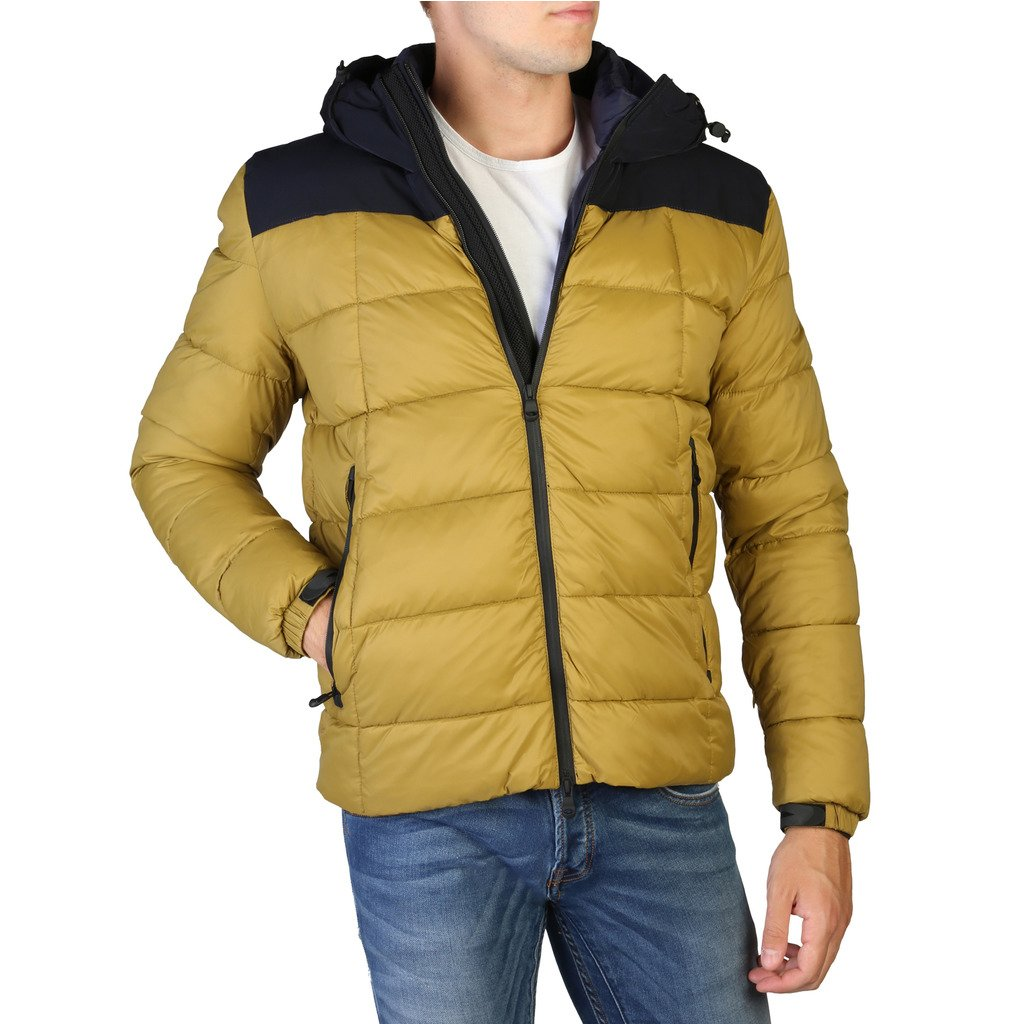 Alessandro Dell'Acqua Men's Jacket Yellow 348346 - yellow M