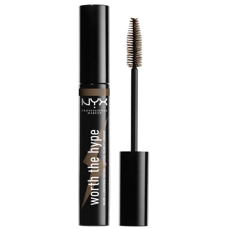 NYX Professional Makeup - Worth the Hype Mascara - Brownish Black