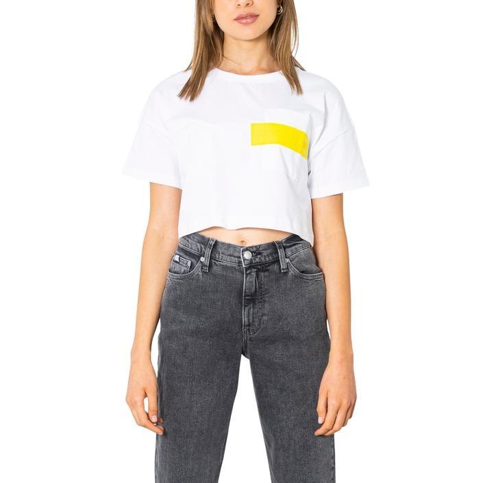 Calvin Klein Jeans Women T-Shirt White 299959 - white S
