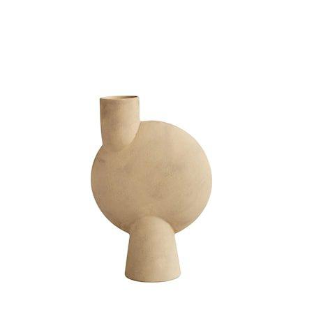 Sphere Vase Bubl Big Sand