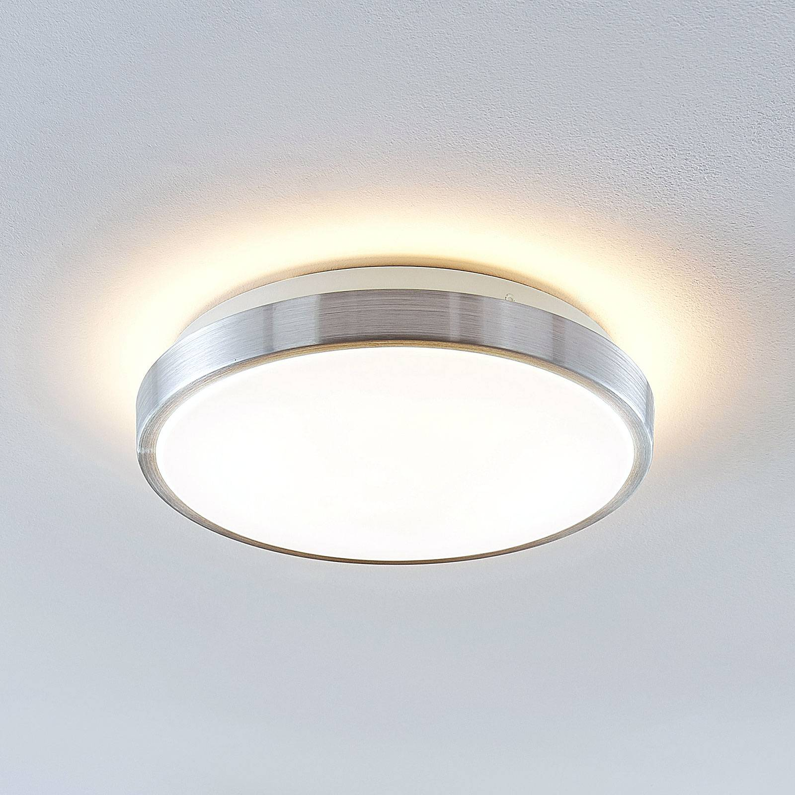 Lindby Emelie LED -kattovalaisin, pyöreä, 27 cm