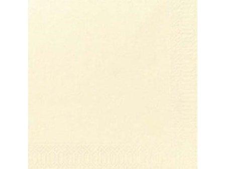 Serviett 3-lags 33 x 33 cm vanilje (125)