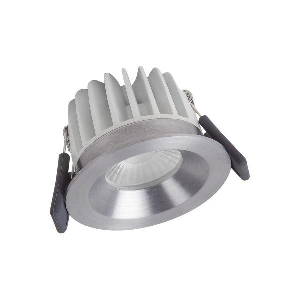 LEDVANCE Spot LED Fix Spotlight 8W, IP44, sølv 3000K