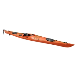 Point 65 Seacruiser Rudder & Skeg Orange