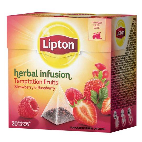 "Lipton ""Herbal Infusion"" 20 x 2g - 25% rabatt"