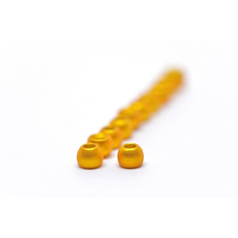 FF Brass Beads 4mm - Mat.Met. Yellow FutureFly
