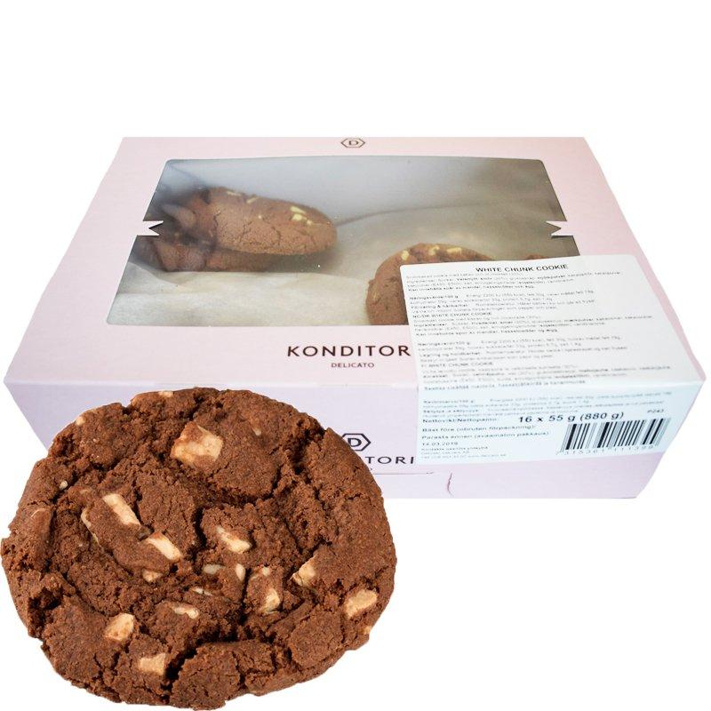 Kakor med vita chokladbitar 16-pack - 23% rabatt