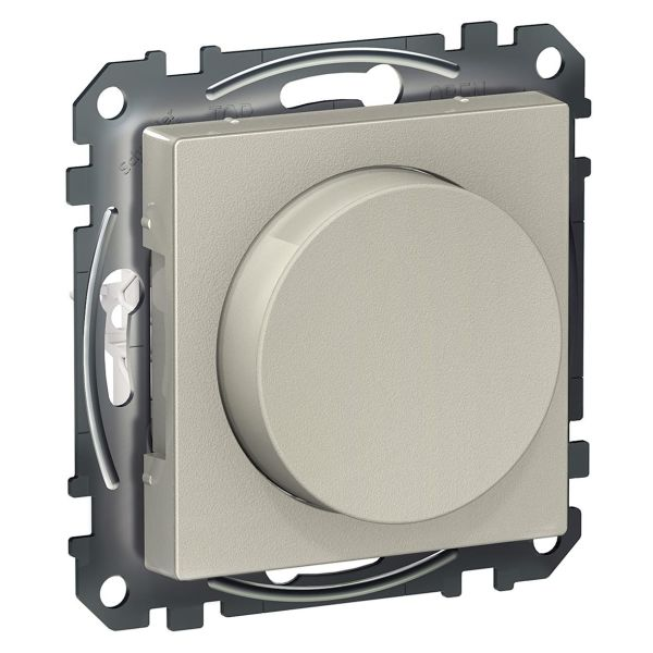Schneider Electric Wiser Dimmer med Bluetooth Metallic