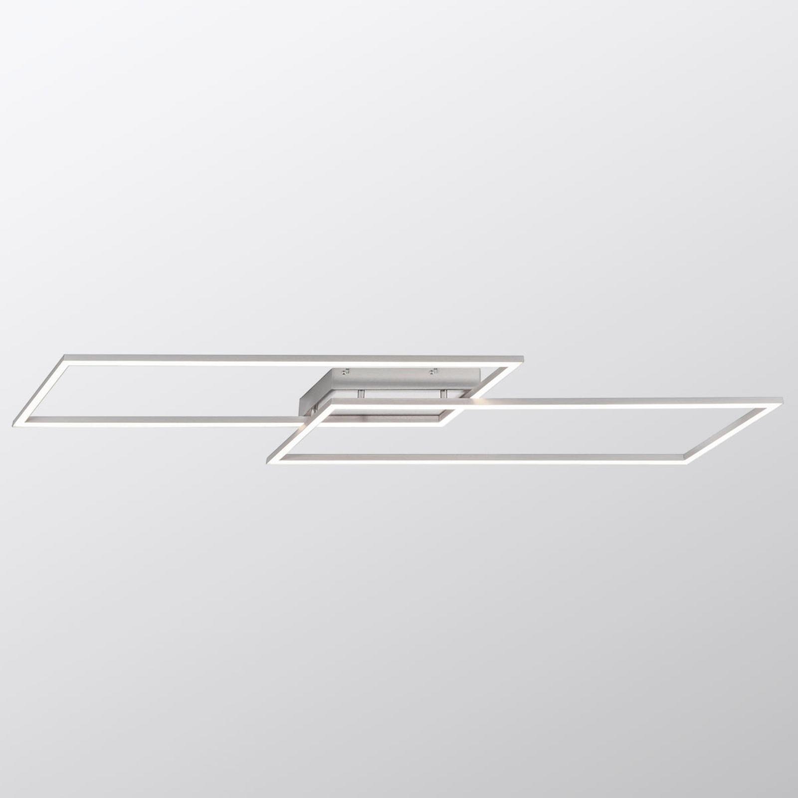 Kaksilamppuinen LED-kattovalaisin Inigo, 113,2 cm
