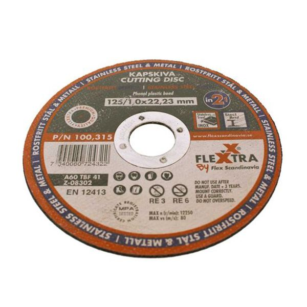 Flexxtra 100315 Kappskive 125 mm