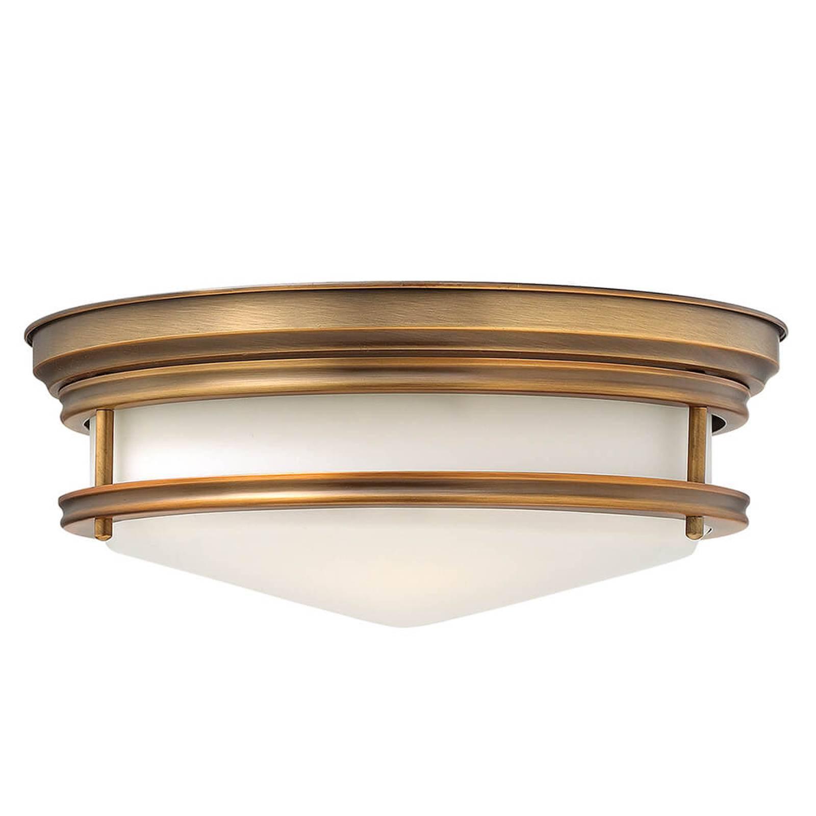 Taklampe Hadley, børstet bronse