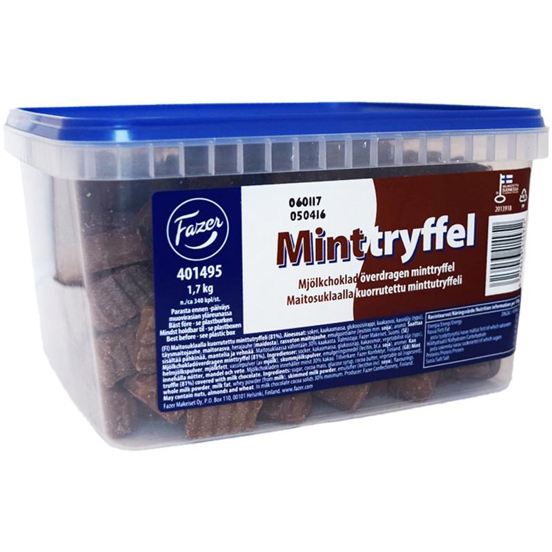 Minttryffel Mjölkchoklad 1,7kg - 51% rabatt