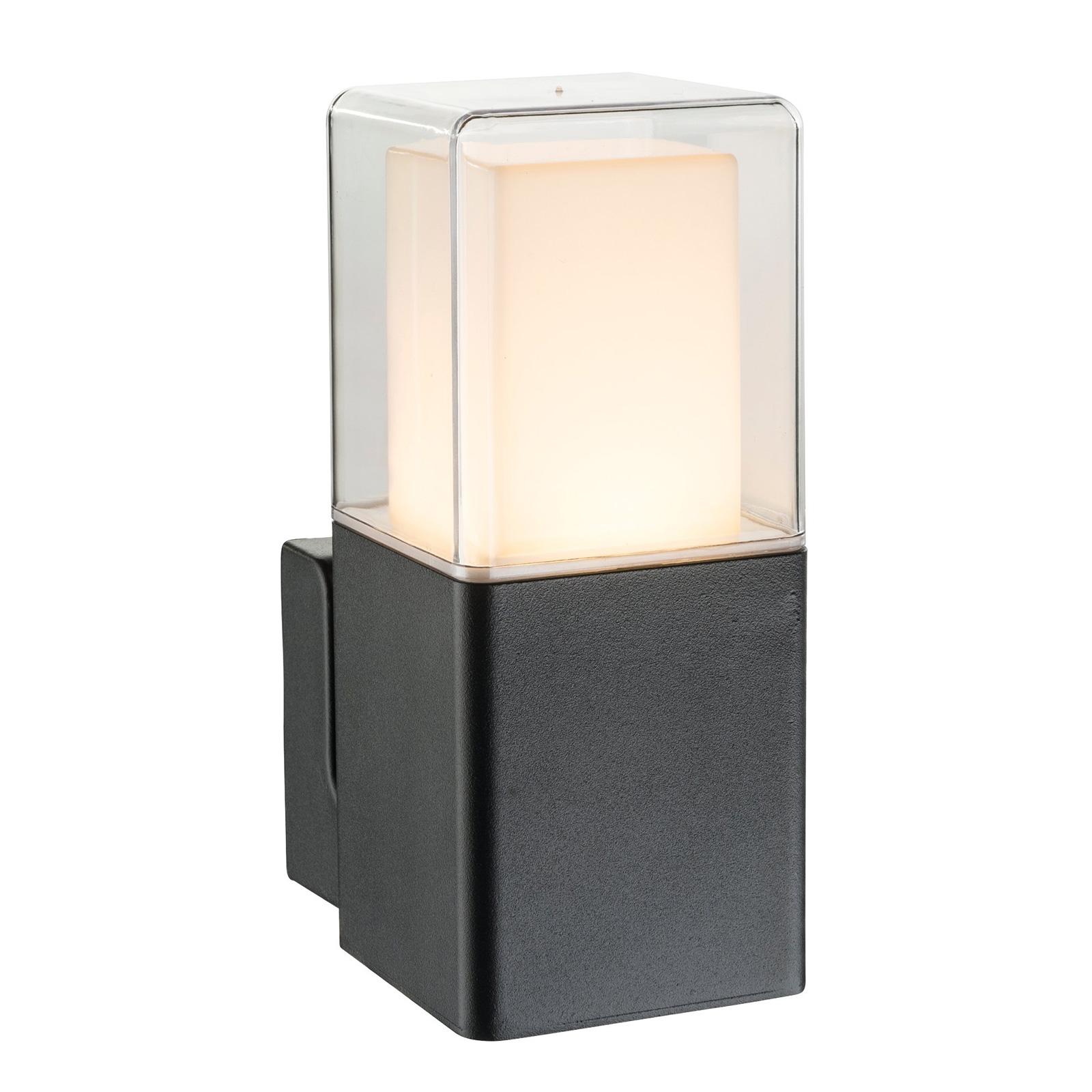 LED-ulkoseinävalaisin Dalia muovidiffuusorilla