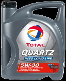 Moottoriöljy TOTAL 5W30 QUARTZ INEO L-LIFE 5L