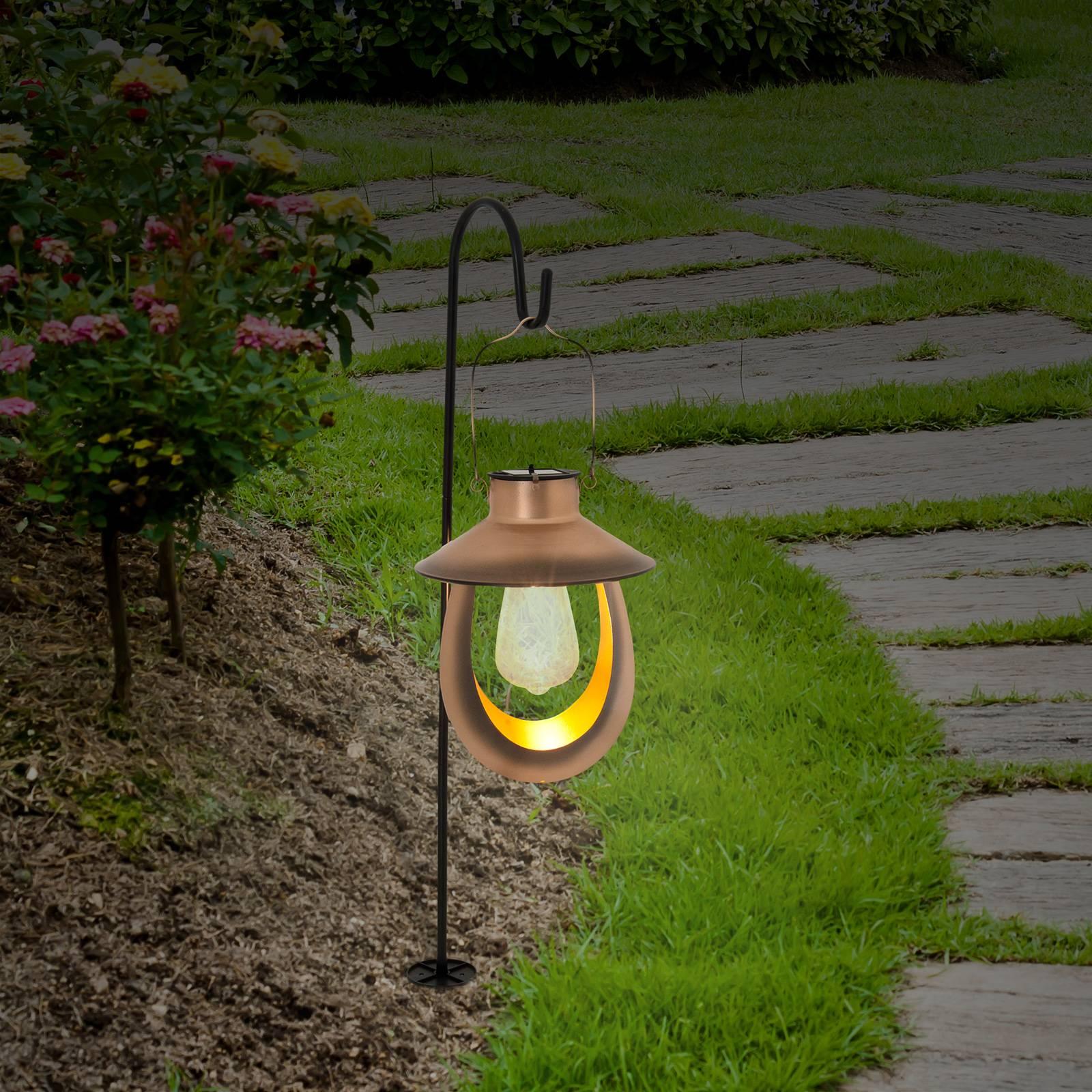 Aurinkokäyttöinen LED-koristelyhty 6108347