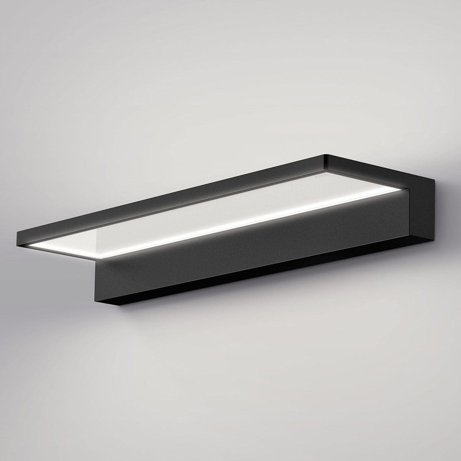 serien.lighting Crib Wall LED-vegglampe, svart