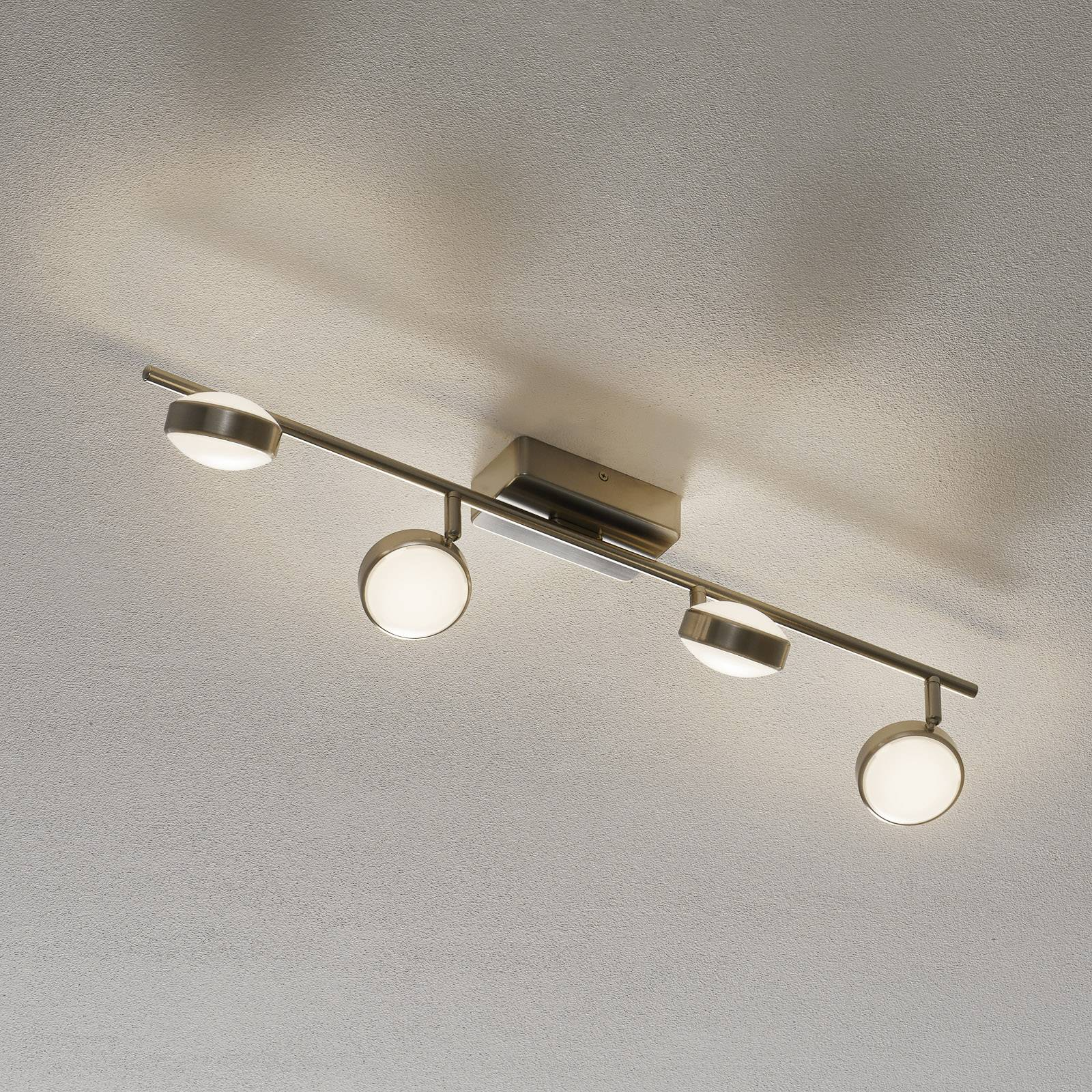 EGLO connect Corropoli-C-LED-kattolamppu 4-lamp.