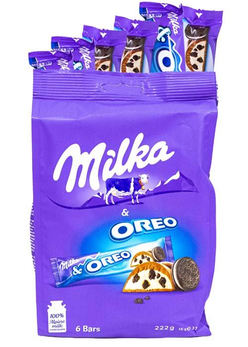 Milka Oreo 222g (6 st x 37g)