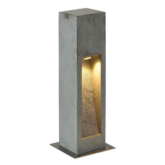 Luonnonkiveä – LED-pylväsvalaisin Arrock Stone
