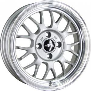 Inter Action B9 Silver Polished 8x18 5/112 ET35 B73.1