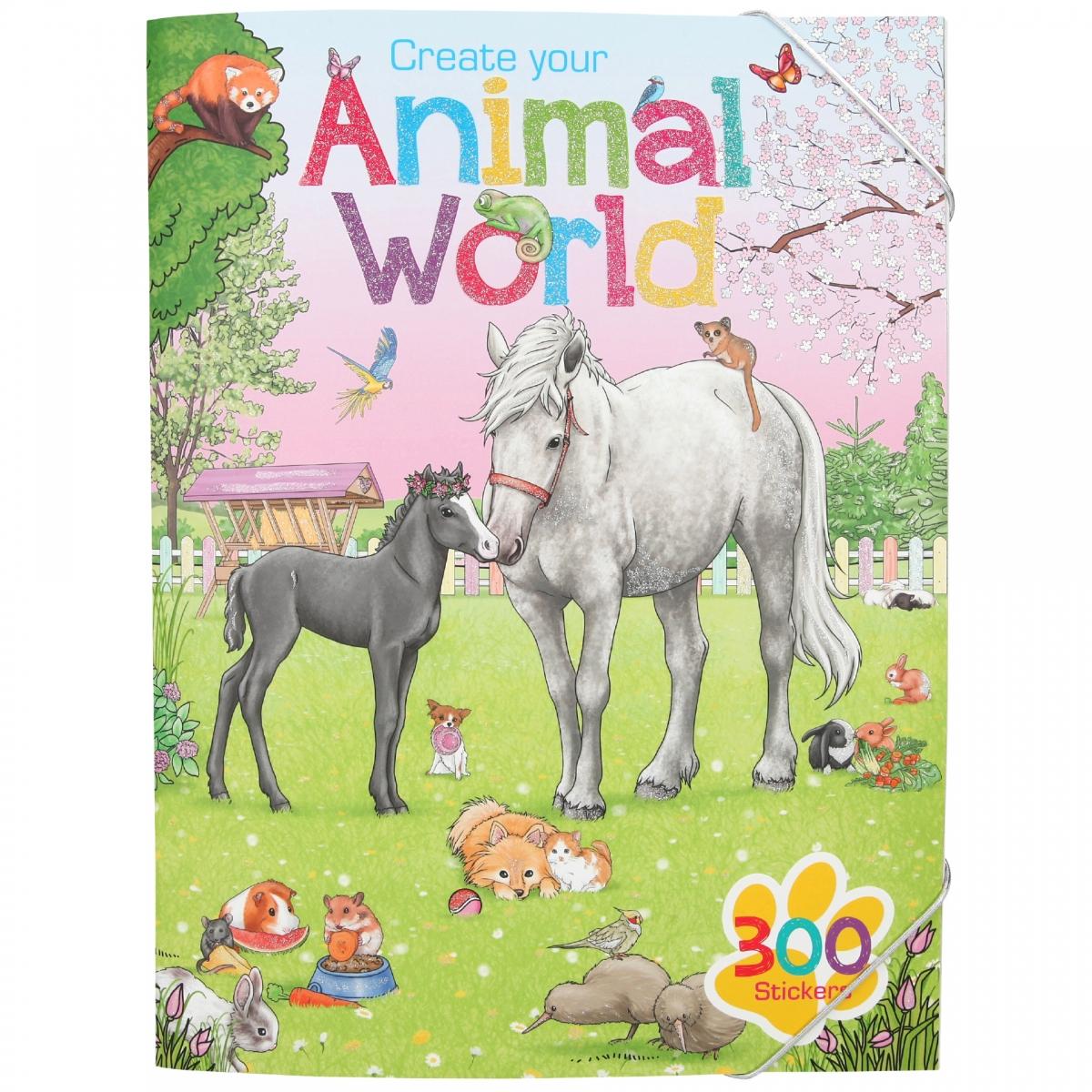 Create Your - Animal World Activity Book (411147)