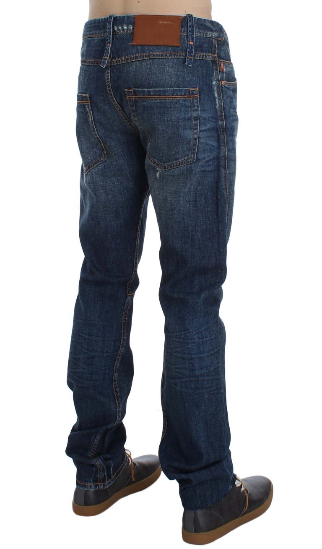 ACHT Men's Denim Straight Fit Jeans Blue SIG30502 - W34