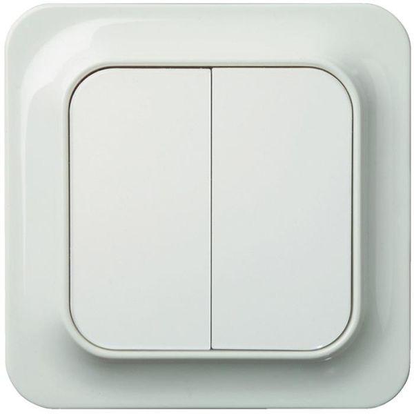 Schneider Electric Trend 183011700 Kytkin valkoinen kruunu