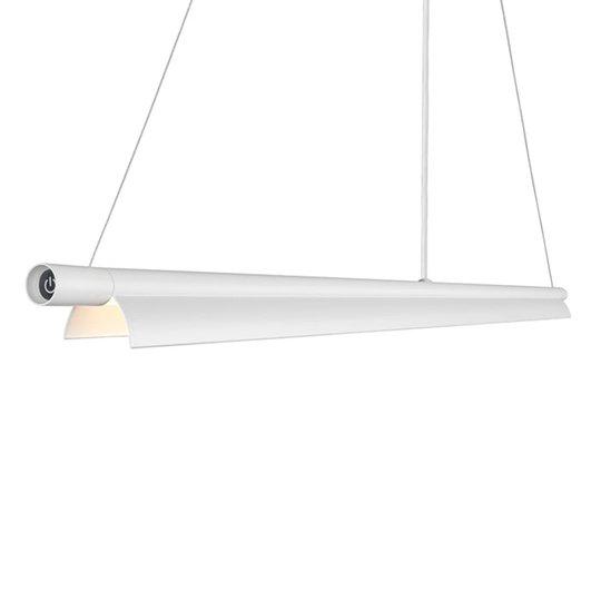 Pitkulainen LED-riippuvalaisin Space B valkoinen