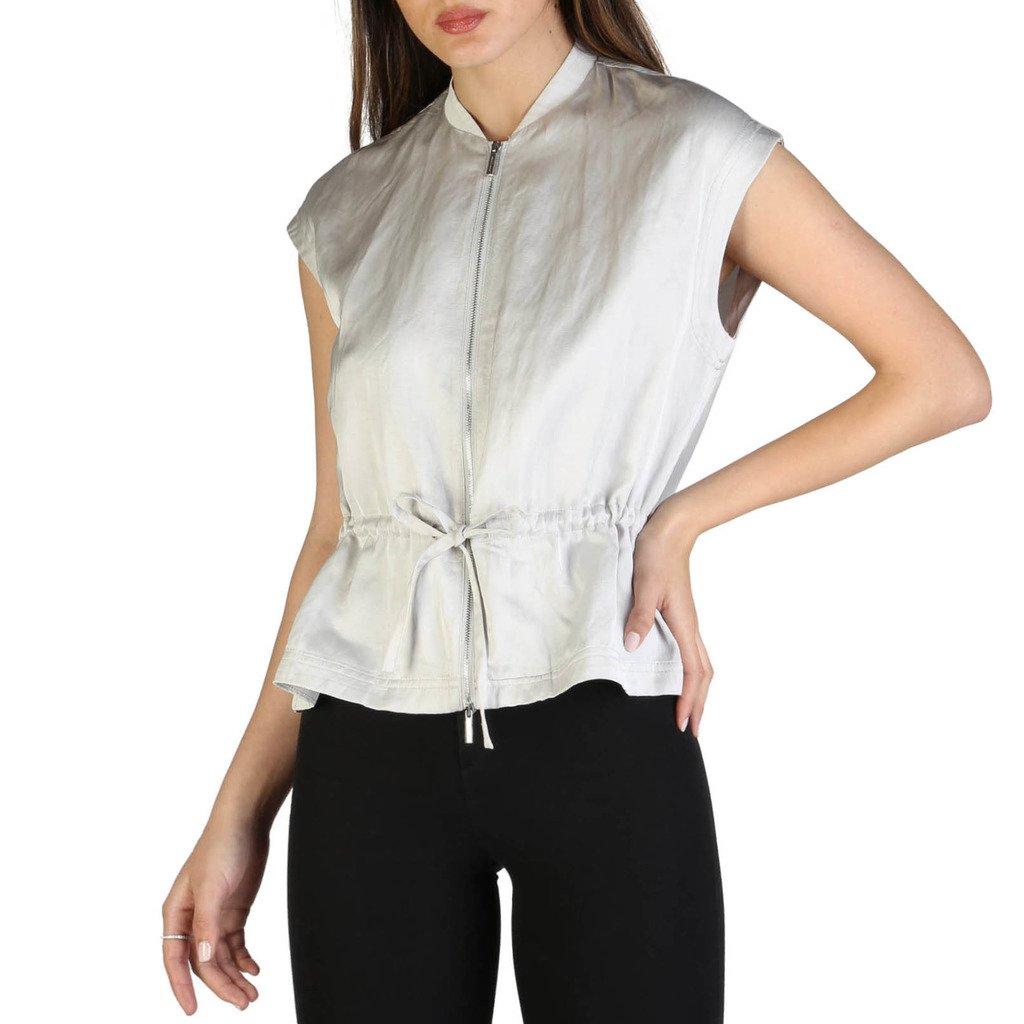 Armani Exchange Women's Shirt Grey 3ZYQ02_YNBFZ - grey XS
