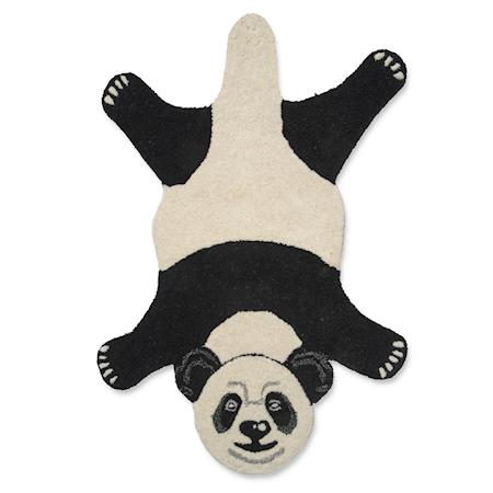 Djurmatta Panda Svart/Vit 60x90 cm