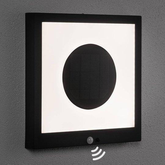 Paulmann LED-aurinkopaneeli Taija, sensori 30x30cm