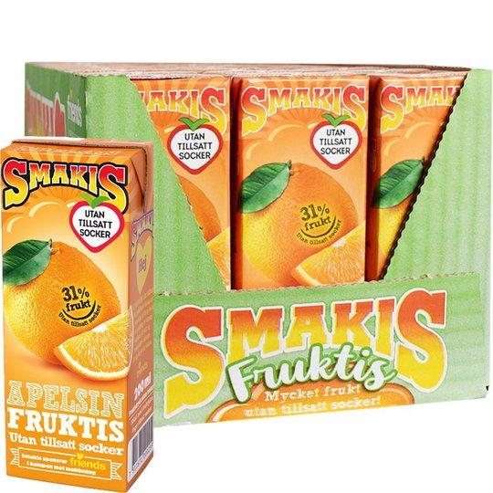 Fruktdryck Apelsin 27-pack - 23% rabatt