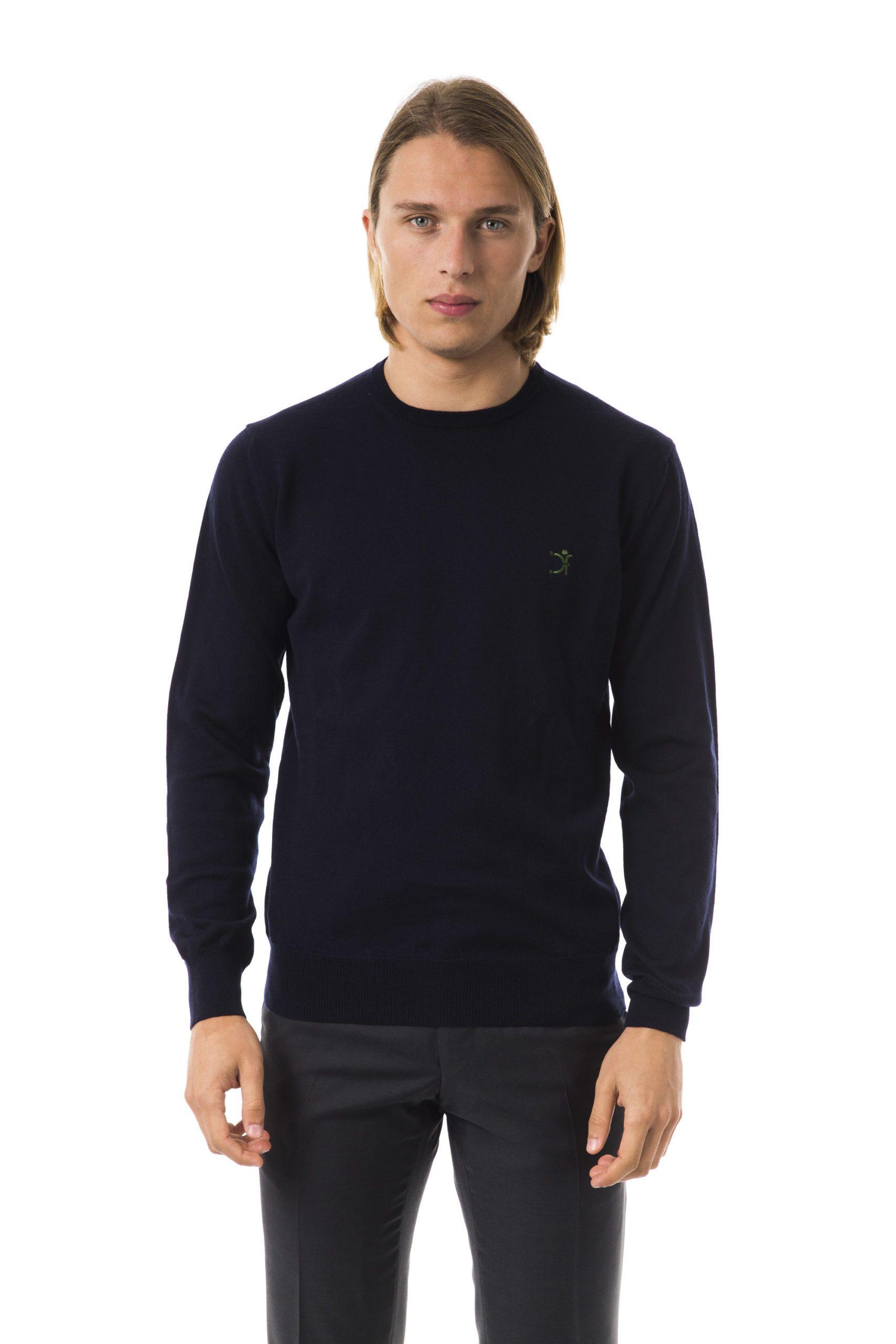 Uominitaliani Men's Sweater Blue UO816631 - XS