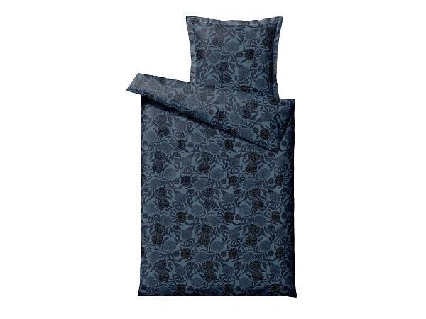 Södahl - Organic Tapestry Bedding 140 x 200 cm - Indigo (11983)
