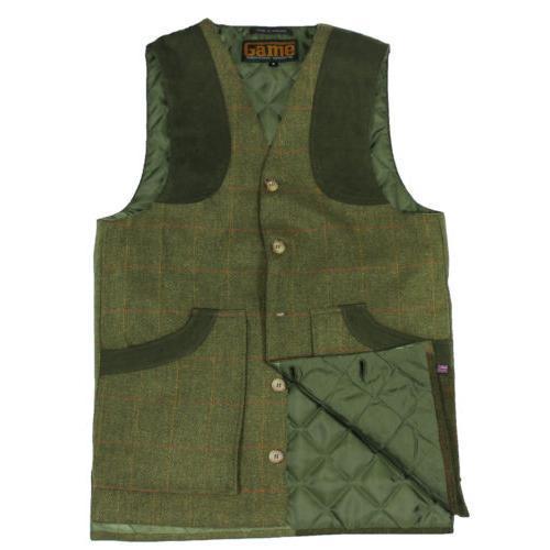 Game Technical Apparel Unisex Jacket Various Colours Ashford Vest - Bute S