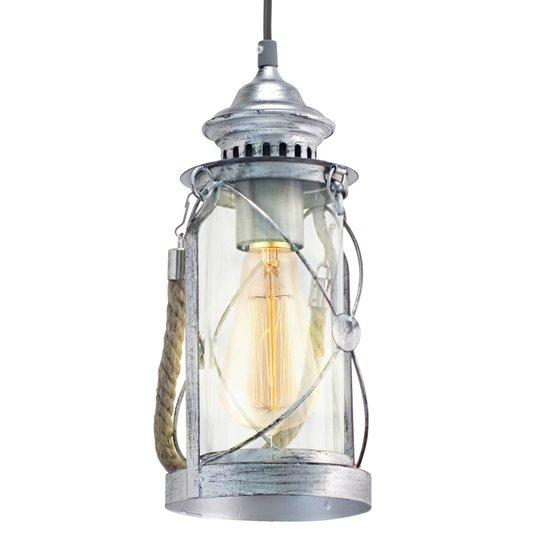 Antiikkityylinen riippuvalaisin Fedor, hopea