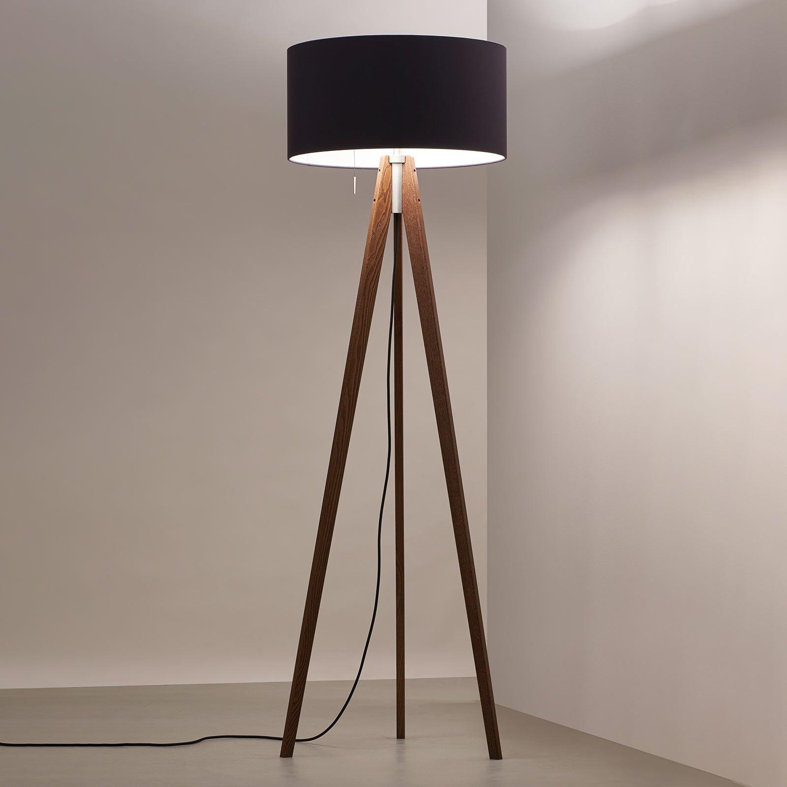 LED-gulvlampe Vivaa Free Wood
