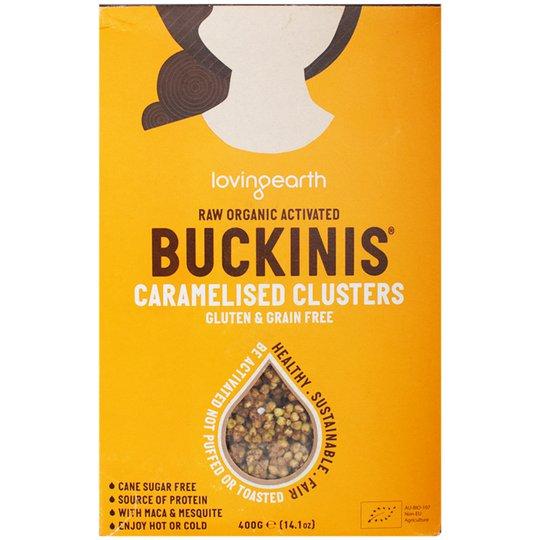 "Eko ""Buckinis Caramelised Clusters"" 400g - 78% rabatt"
