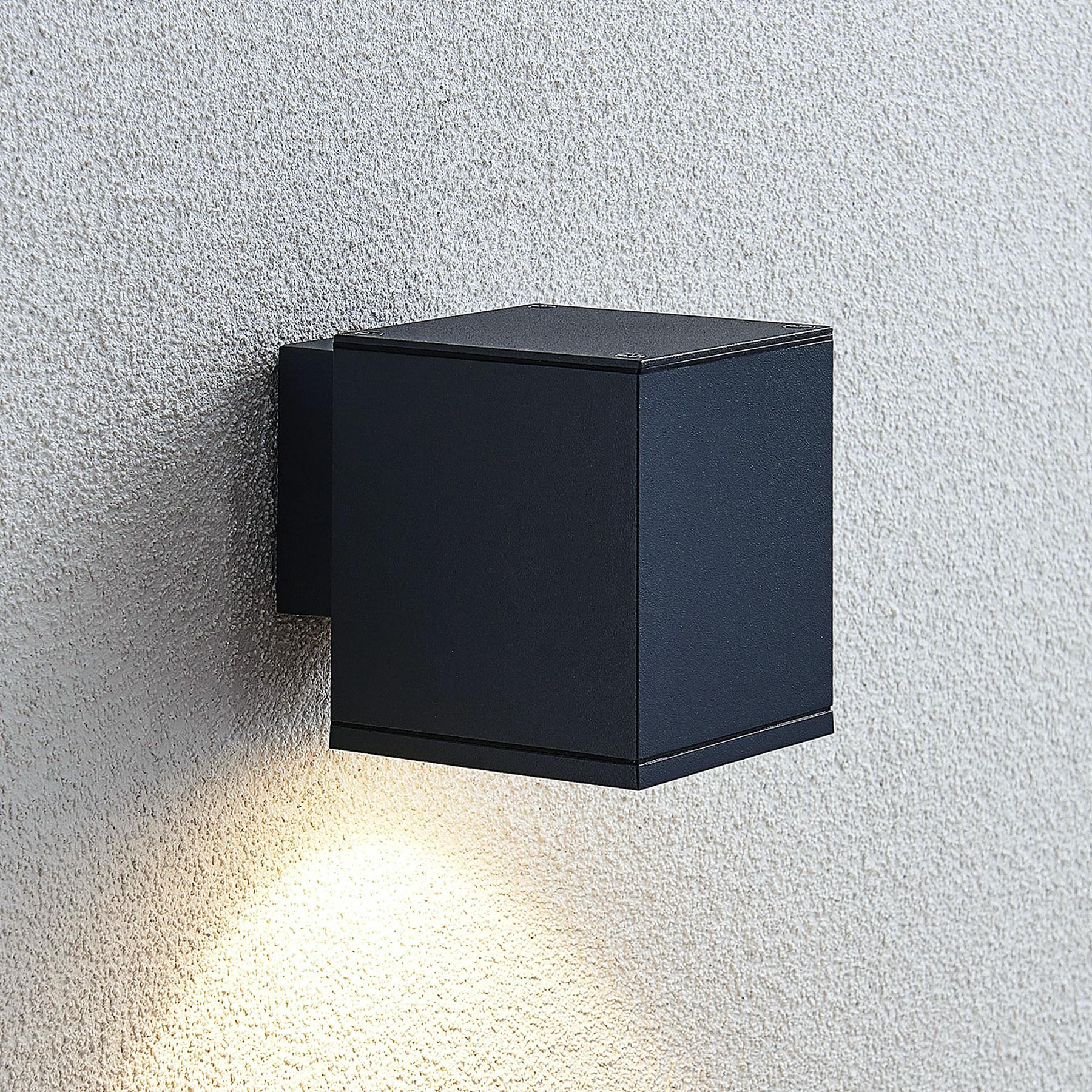 LED-ulkoseinälamppu Mekita, yksilamppuinen