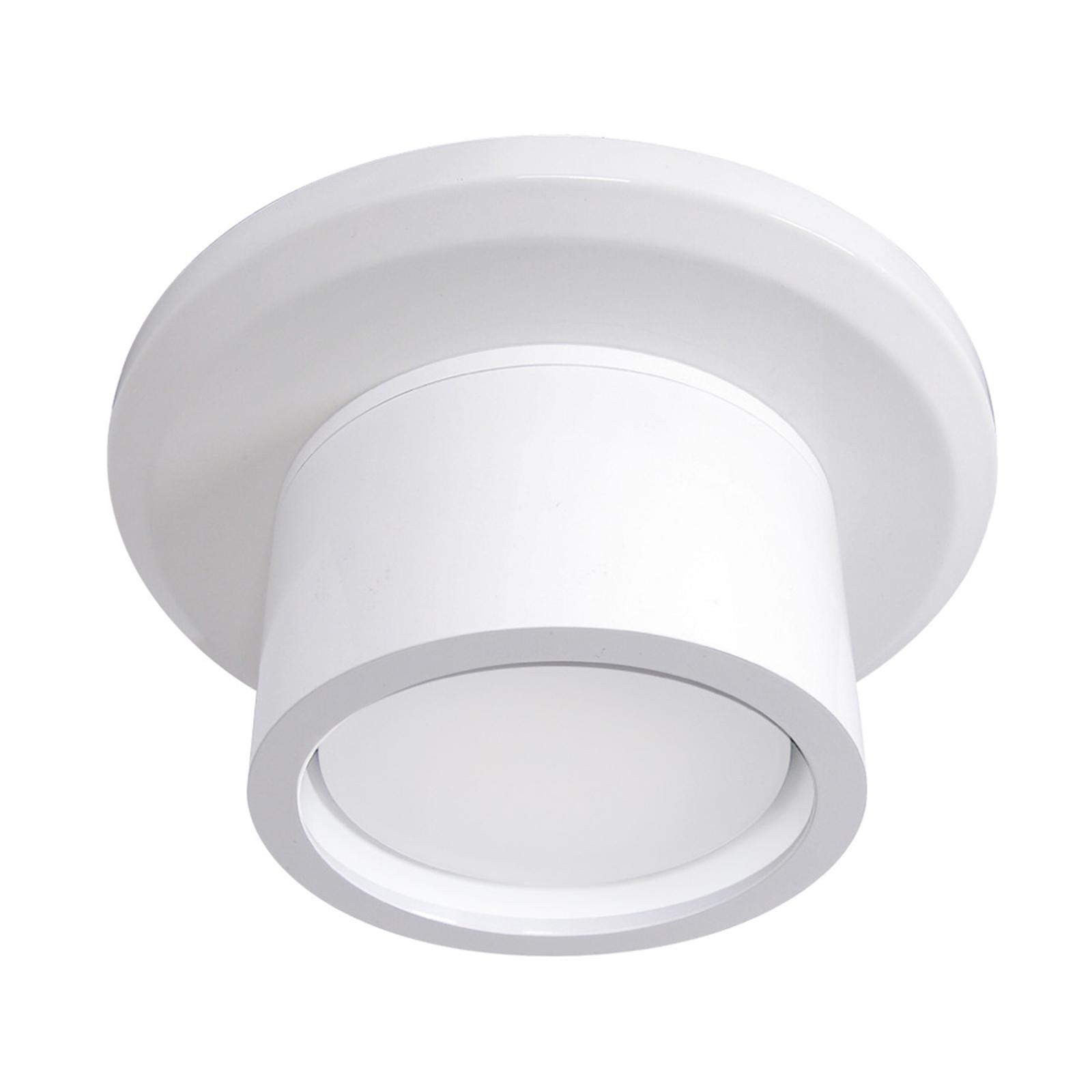 Valosetti kattotuulettimeen - GX53 valkoinen