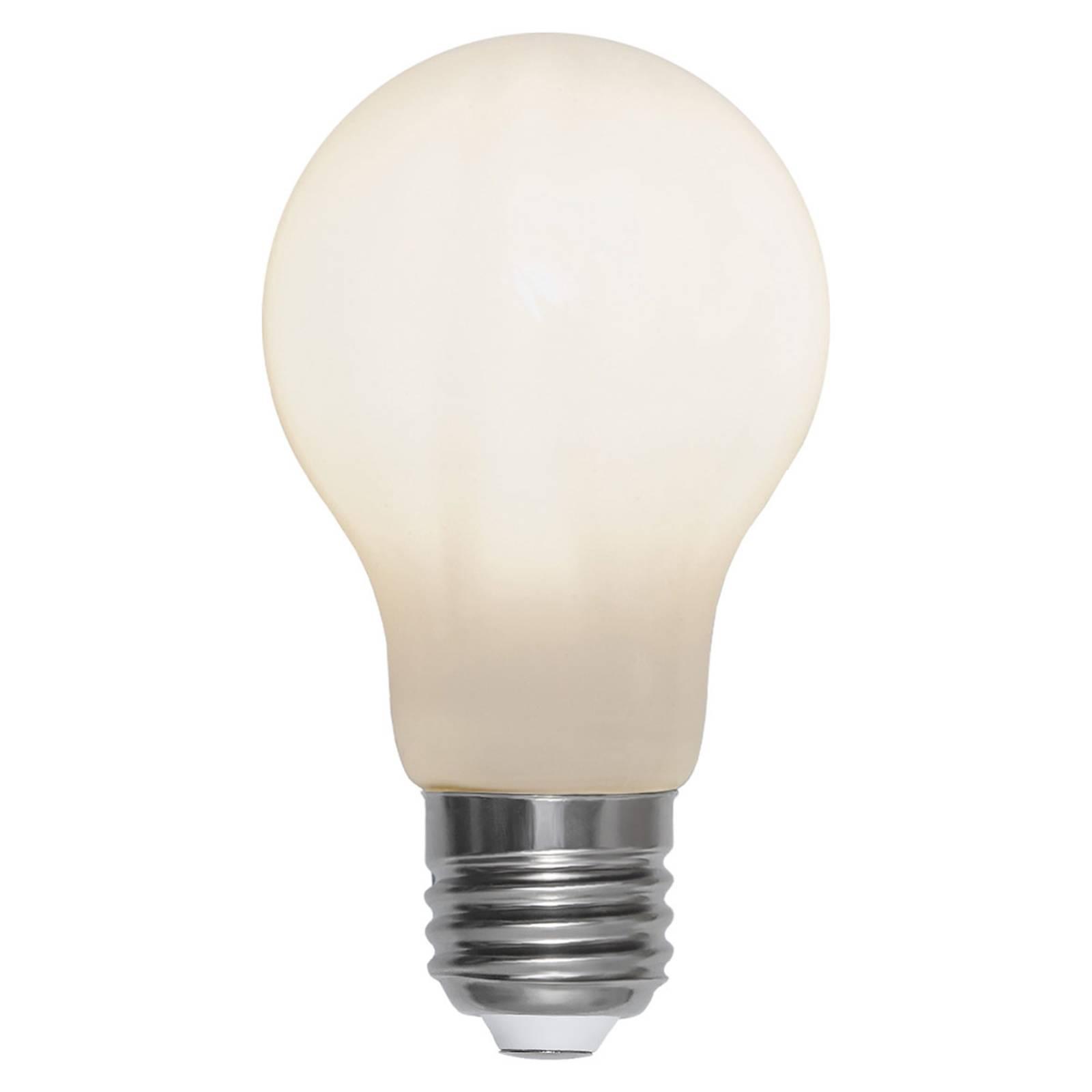 LED-lamppu E27 2 700 K Ra90 opaali 7,5W