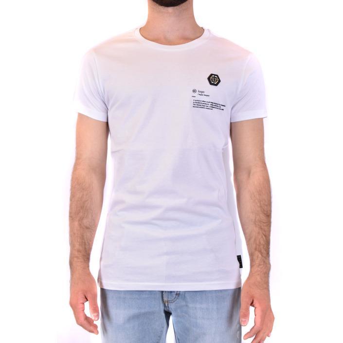 Philipp Plein Men's T-Shirt White 229872 - white L