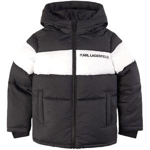 Karl Lagerfeld Kids Logo Detail Täckjacka Svart 4 år