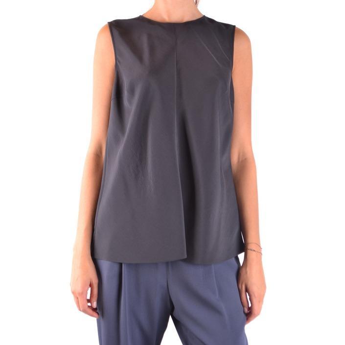 Brunello Cucinelli Women's Top Black 163916 - black XL