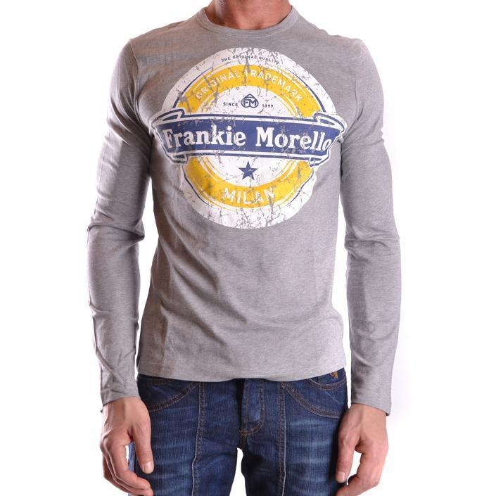 Frankie Morello Men's T-Shirt Grey 162829 - grey S